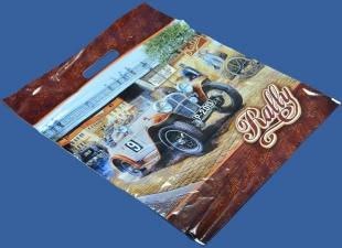Ралли - Цветы - пакет ПВД, вырубная ручка