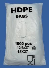 фасовочный пакет упаковка 1000 шт, с фальцами, купить оптом по цене производителя