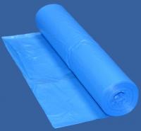 ПВД мешок для мусора 120 литров голубой