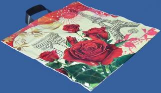 Цветы - пакет ПВД, петлевая ручка
