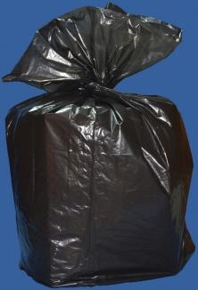 пакет для мусора черный 60 литров